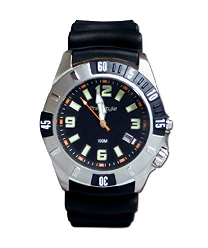 Freestyle Dive Watch - FREESTYLE MEN'S SHARK BLACK TIP WATER PROOF WATCH 75301