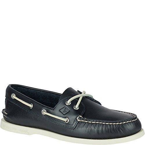 Sperry Top-Sider Men's a/O 2-Eye Boat Shoe, Navy, 9 Medium US
