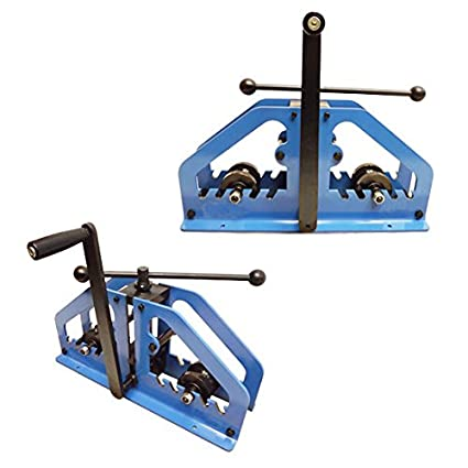 Manual Tube Pipe Roller Bender Bending Square Round Flats Fabrication Mild Steel  sc 1 st  Amazon.com & Manual Tube Pipe Roller Bender Bending Square Round Flats ...