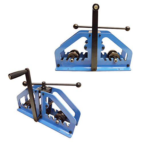 Tube Bending Radius - Manual Tube Pipe Roller Bender Bending Square Round Flats Fabrication Mild Steel