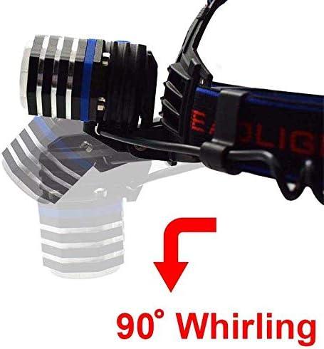 yywl led headlamp Led Headlamp Frontal Flashlight Rechargeable Head Torch Led Fishing Headlight Lamp By