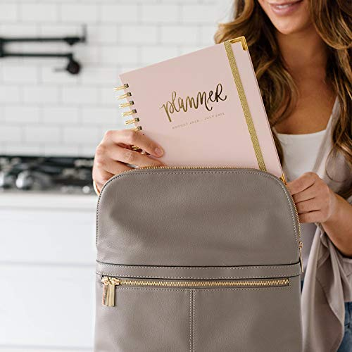Sweet Water Decor 2020-2021 Academic Year Planner (August 2020 - July 2021) Inspirational Organizer, Weekly/Monthly Dated Hardcover Agenda Book (Blush)