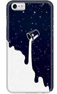 Stylizedd Apple iPhone 6 Premium Slim Snap case cover Matte Finish - Milky Way