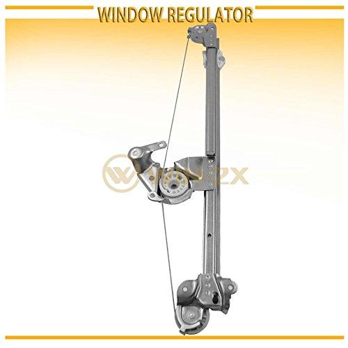 E320 Window Regulator - WIN-2X New 1pc Rear Passenger Right Side Power Window Regulator Without Motor Fit Mercedes-Benz W210 E-Class 96-02 4-Door Sedan 96-03 5-Door Wagon