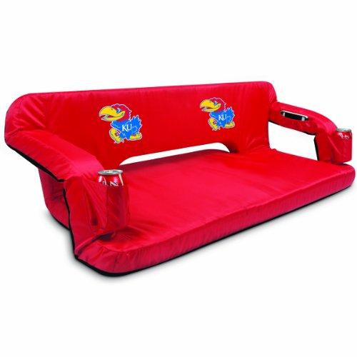 (PICNIC TIME NCAA Kansas Jayhawks Reflex Portable Travel Couch,)