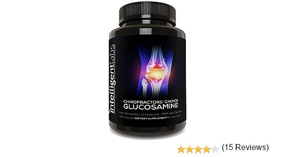 ☆ #1 ¡La mejor glucosamina de Amazon! ☆ Sulfato de glucosamina en un complejo de triple potencia de 1.500 mg ☆ ¡Detén el dolor ahora!