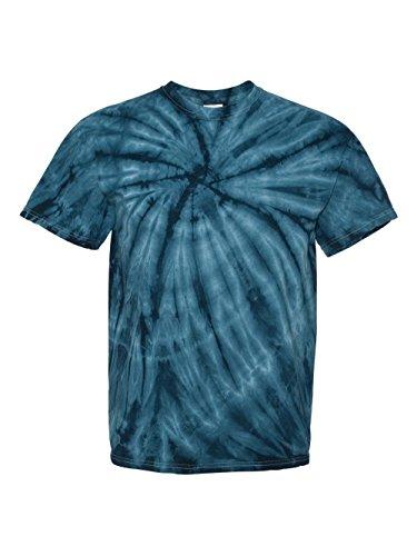 Pattern Tie Dye T-shirt (Faded Cyclone Scattered Pattern Design Unisex Adult Tie Dye T-Shirt Tee)