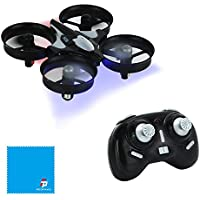 JJRC H36 Mini 2.4G 4CH 6Axis Gyro Headless Mode Remote Control RC Quadcopter RTF One-key Return (Black)
