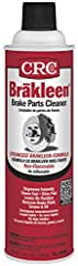 CRC Brakleen brake parts cleaner is non-flammable and formulated to quickly and effectively remove grease, brake dust, brake fluids, oils, and other contaminants from brake parts, lining, pads. CRC is a worldwide leader in the production of s...