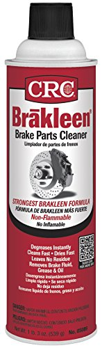 (CRC 05089 BRAKLEEN Brake Parts Cleaner - Non-Flammable -19 Wt Oz)