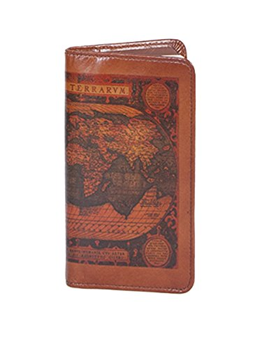 (Scully 1008-16 Unisex Leather Pocket Weekly Planner, Cognac - 28)