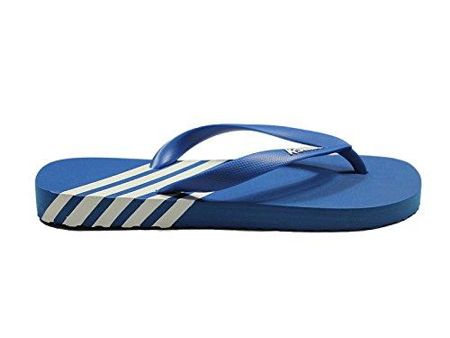 Hombre K-Swiss Iconos K-Flop Zapato Veraniego De rayas Zapato Playa Chanclas Con Tira En Dedo Azul/Blanco
