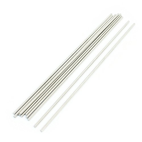 Stainless Steel Axle - uxcell 10Pcs 160 x 2.5mm Stainless Steel Cylinder Linear Rail Round Rod Axle