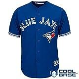 Toronto Blue Jays Blank Blue Youth Cool Base Alternate Replica Jersey