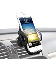 TIANYI Car Phone Holder Universal One Touch car Holder car Mount Compatible for iPhone Xs X XR 6S 7 Plus 8 5S 6, Samsung Galaxy S9 S7 Edge S8 S6, Google Pixel 2 XL, LG G6 Smartphone