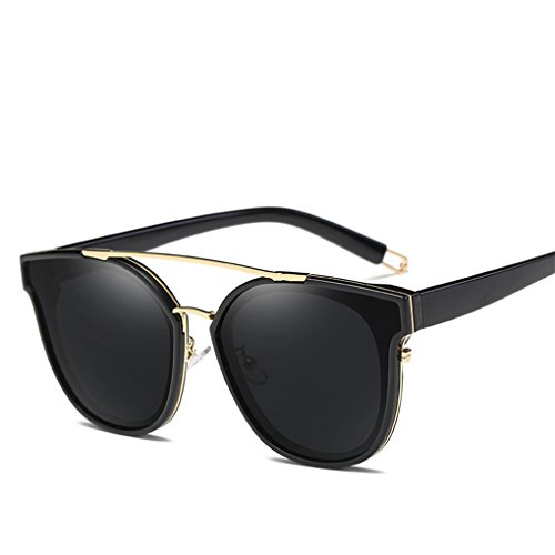 GAMT Retro Metal Polarized Sunglasses Fashion Oversized For Women and Men Black - Shipping Fast Sunglasses