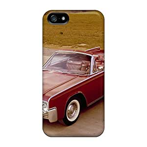 High Grade Special-G Flexible Tpu Case For Iphone 5/5s - 1961 Lincoln Continental