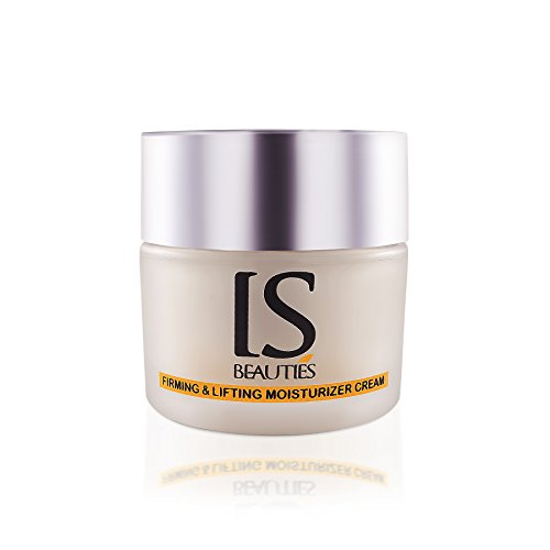 Firming and Lifting Plus Moisturizer Cream by IS Beauties - Cell Renewal and Anti Aging With Collagen Support For Face and Neck - Daily and Night Anti Wrinkle Moisturizing For ()