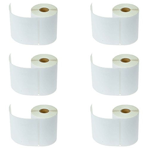 Dymo 4XL Labels 1744907 Compatible - (6 Rolls Pack) 4x6