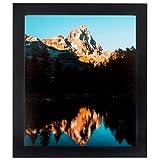 ArtToFrames 11x23 inch Satin Black Picture