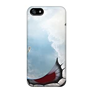 Fashion Tpu Case For Iphone 5/5s- Dragon Commer Divinity Defender Case Cover
