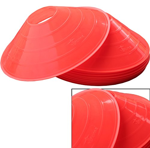 Cintz Half Cone Markers (Set of 12), 2-Inch, Orange image