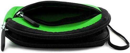 Green Black Protective Neoprene Cover Sleeve for Canon Power Shot A490 A495 A800 A1200 A2200 A3000 IS A3100 IS A3300 IS Powershot Digital Camera and Blue 6 Inch Mini Tripod and Screen Protector