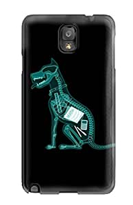 OTjZO8509THBBy Anti-scratch Case Cover AmazingAge Protective X Ray Dog Case For Galaxy Note 3