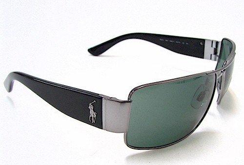 e355bf225d3c Polo Ralph Lauren 3041 Sunglasses Silver/Black 9002/71 Shades:  Amazon.co.uk: Clothing