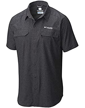 Irico Shirt - Short-Sleeve - Men's Black Heather, M