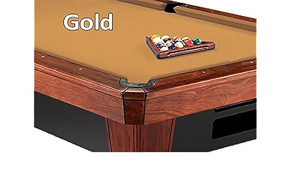 c43413bb3d2 Amazon.com   9  Simonis 860 Gold Pool Table Cloth Felt   Billiard Cloth    Sports   Outdoors