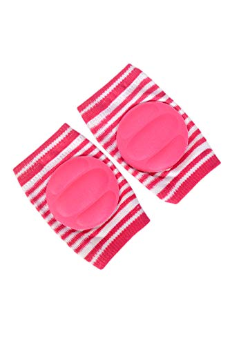 Mom care Baby Knee & Elbow Guard/pad for Crawling, Toddlers, Infant, Girl, Boys, Safety Protector Comfortable Cap for Leg and Hand Ideal for 6-12 Months Babies.(Set of 2 Pair)