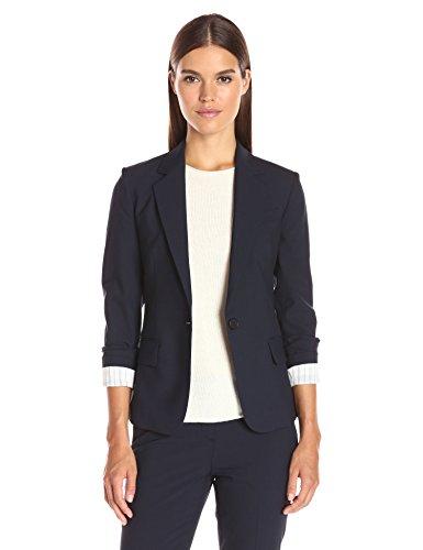 (Theory Women's Gabe Single Button Blazer, deep Navy)