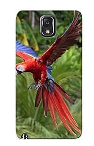 ASQZQsg6645ExOFv Scarlet Macaw Fashion Tpu Case Cover For Galaxy Note 3, Series