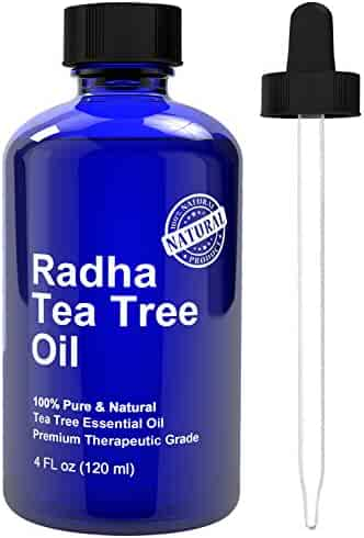 Radha Beauty Tea Tree Essential Oil 4 oz - 100% Pure Therapeutic Grade
