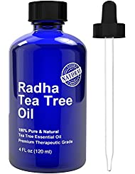 Radha Beauty Tea Tree Essential Oil 4 oz - 100% Pure...