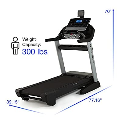 ProForm Pro 2000 Treadmill (2016 Model) PFTL13116 from ICON Health and Fitness