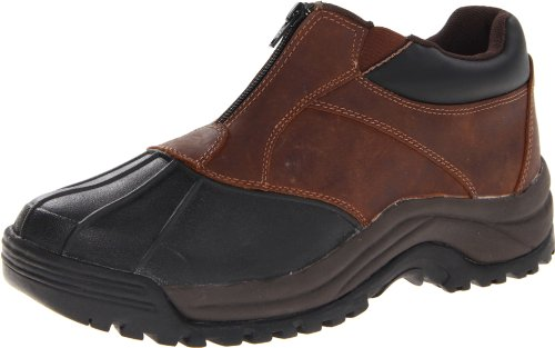 - Propet Men's Blizzard Ankle Zip Boot,Brown/Black,9.5 5E US