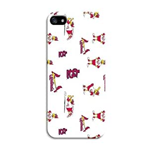 LarryToliver Customizable Awesome Baseball Z Mascots iphone 5/5s Case / Cover Your Phone