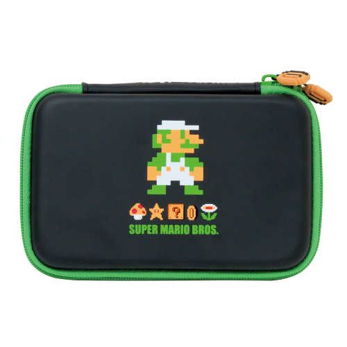 HORI 3DS XL Retro Mario Hard Pouch (Luigi)