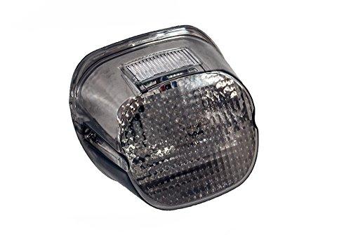 Smoke Lens OZ-USA Tail Brake LED Light Harley Davidson Motorcycle Stop Lamp Xl FLH FX - Lamp Heritage Davidson Harley Softail