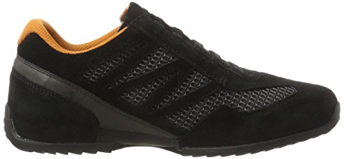 camel active Space 29, Zapatillas para Hombre Negro (black/dk.grey 01)