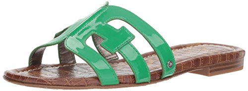 Sam Patent Leaf Bay Sandal Edelman Green Slide Women's 7p7qUwZ