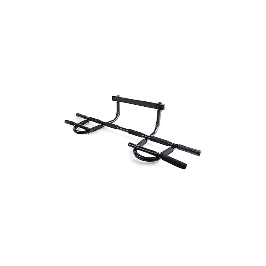 SUPOW(TM) Heavy Duty Gym Doorway Chin up Pull up Bar/Chin up Pull up Bar/All In One Doorway Chin Up Bar/Iron Gym Total Upper Body Workout Bar/Portable All in one Pull up Chin up Bar
