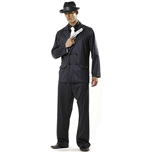 Adult Men's Mafia Halloween Costume (One (Mens Mafia Costume)