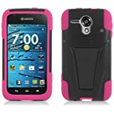Kyocera Hydro EDGE C5215 Hot Pink Skin+Black Cover