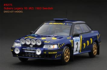 Subaru Legacy Rs 2 Swedish Rally 1992 C Mcrae 1 43 Hpi Model