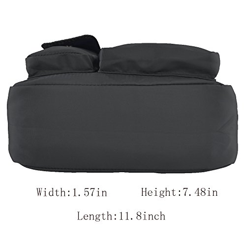 Bags 6098 Small Purse new Side for handbags Crossbody Nylon Shoulder Lightweight women Multi Waterproof Pocket gray bag c6IcqRgp