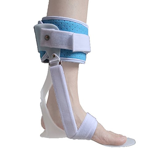 Medical AFO Ankle Foot Orthosis Foot Drop Orthosis Postural Correction Brace Splint Leaf Spring Recovery Equipment Injection - Large for Left Foot by Furlove