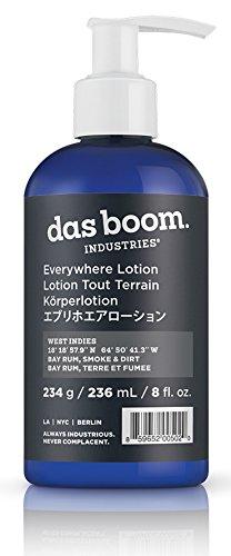 Das Boom Everywhere Lotion 8 Oz - West Indies (Bay Rum, Smoke, - Caribbean Rum Bay